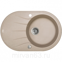Мойка, granucryl, песок, 770*500, Kitchen G, IDDIS, K13P771i87